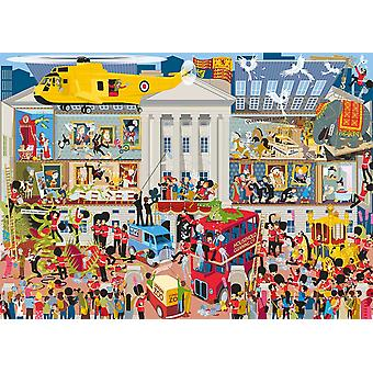 Gibsons Lifting The Lid Buckingham Palace Jigsaw Puzzle (1000 pieces)