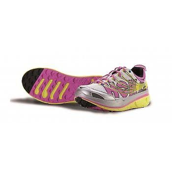 Kailua Trail Running Shoes Citrus / bianco / fucsia Womens