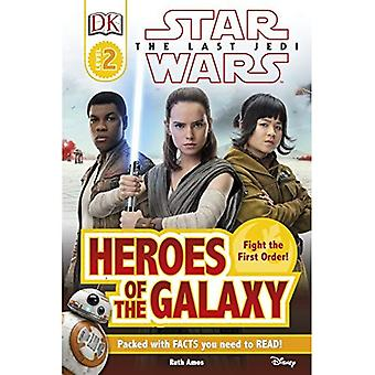 Star Wars The Last Jedi�� Heroes of the Galaxy - DK Readers Level 2
