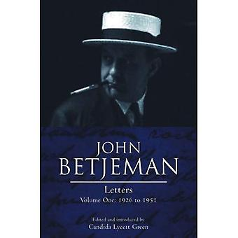 John Betjeman Letters: 1926-1951 v. I