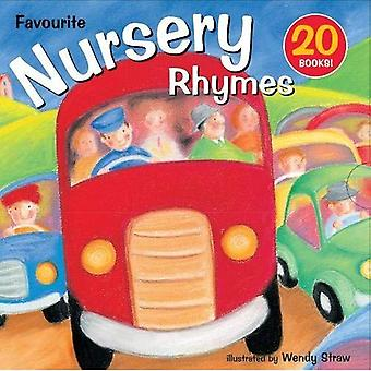 20 Favourite Nursery Rhymes Books Box Set Collection Including Old macDonald, Twinkle, Twinkle Little Star, The...