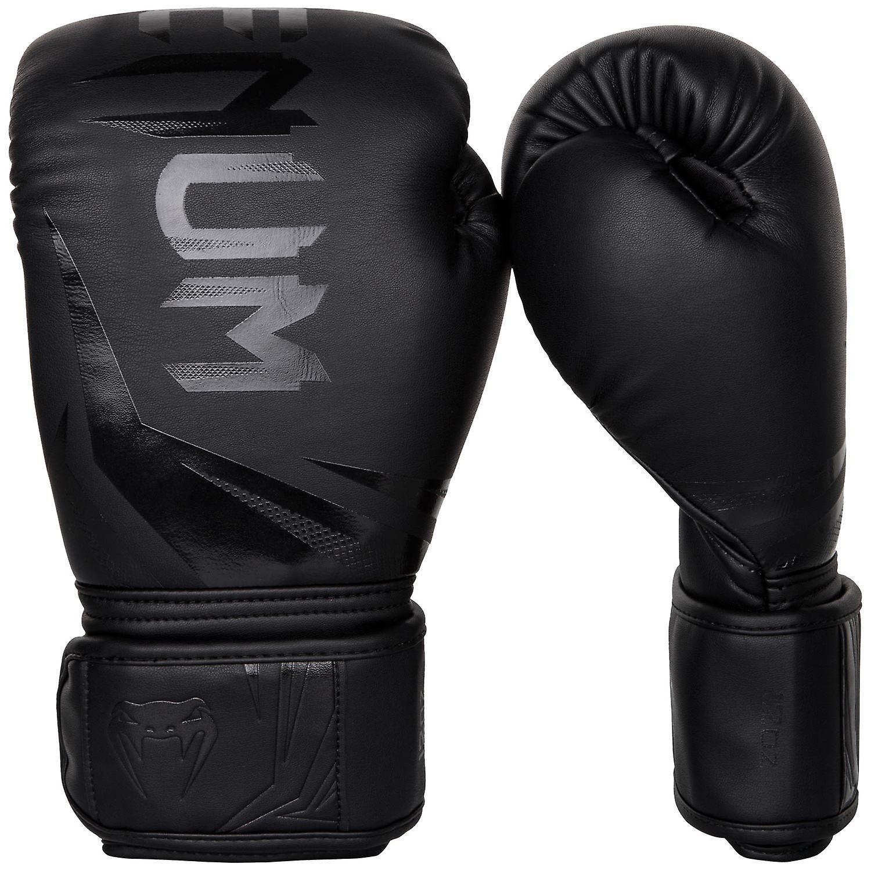 Venum Challenger 3.0 crochet & boucle boxe gants d'entraîneHommest - tout noir