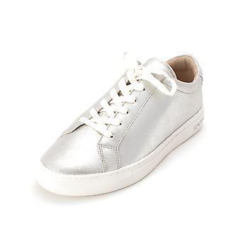 DKNY Womens domstolen läder låg topp spets upp mode Sneakers