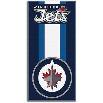 Northwest NHL beach towel ZONE Winnipeg Jets 76x152cm