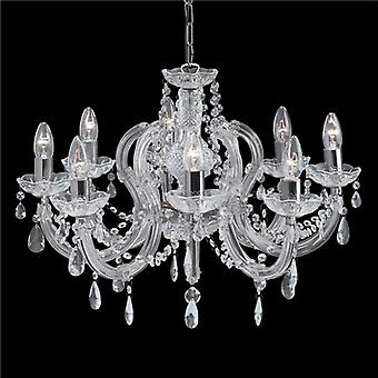 Searchlight Marie Therese II 399-8 7 Chandelier
