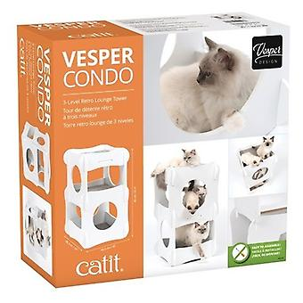 Catit Vesper Cottage Condo para Gatos (Cats , Toys , Scratching Posts)