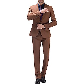 Allthemen Men's Suit Business Wedding 2-Pieces Suit Blazer&Pants 10 Colors