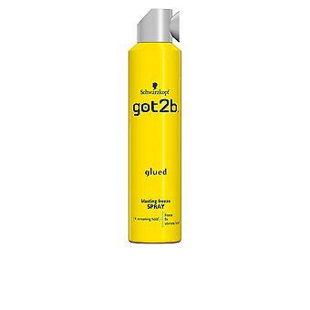 Schwarzkopf Got2b Glued Blasting Freeze Spray 300 Ml Unisex
