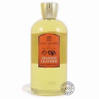 Geo F Trumper Spanish Leather Hair & Body Wash 500ml