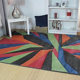 Hand geschnitzt Shatter Multi Rechteck Teppiche moderne Teppiche