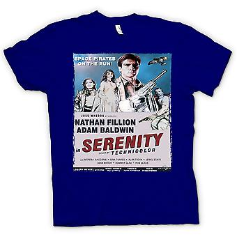 Womens T-shirt - Serenity Space Western - B Movie