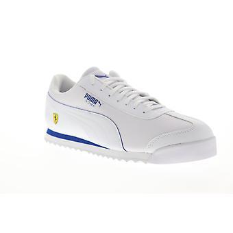 Puma Scuderia Ferrari Roma mens vita läder låg Top sneakers skor