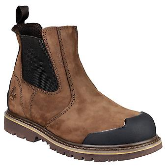 Amblers Safety Mens FS225 Goodyear Welted Waterproof Pull On Chelsea Safety Boot
