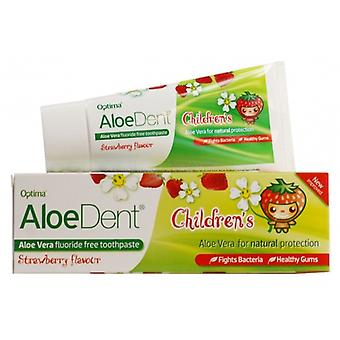 Madal Bal Dentifrico Aloe Vera Without Fluor Strawberry Children 50 ml