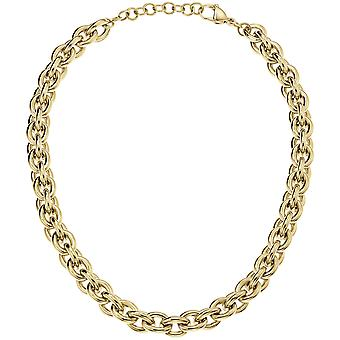 Calvin Klein Statement Gold PVD Stainless Steel Ladies Necklace Jewellery