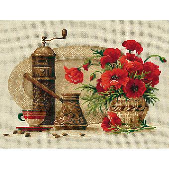 Coffee Counted Cross Stitch Kit-11.75
