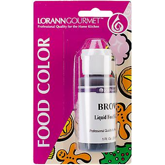 Liquid Food Color 1 Ounce Brown Lfc 1030