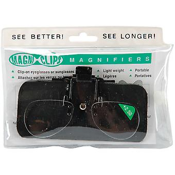 Magni Clips Magnifiers +2.50 Magnification Mc250