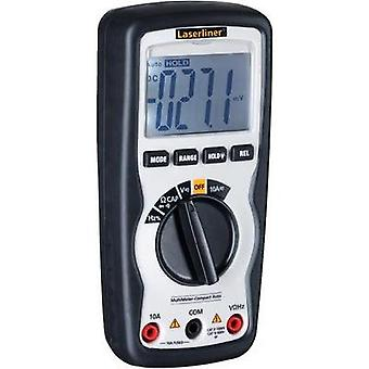 Håndholdt multimeter digital Laserliner MultiMeter-Compact Auto CAT IV 600 V skjerm (teller): 4000