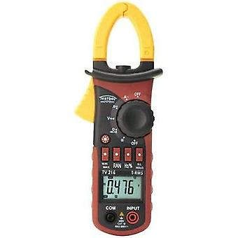 Current clamp, Handheld multimeter digital Testboy TV 216N Calibrated to