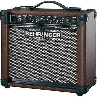 Acoustic guitar amplifier Behringer AT108 Brown