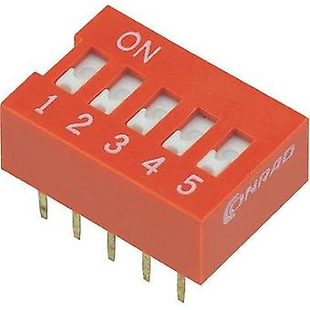 Conrad Components 704862 DIP Switch
