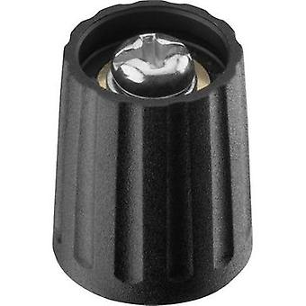 Control knob Black (Ø x H) 13 mm x 15.5 mm Ritel 26 13 60 3 1 pc(s)