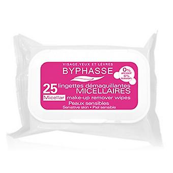 Byphasse Wipes Solution Micellar you up Removers 25 Sensitive Skin