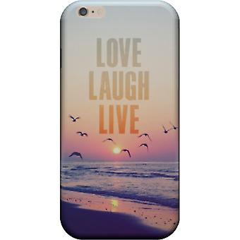 Cover Love laugh live for iPhone 7