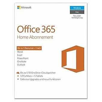 Microsoft Office 365 Home Full version, 5 licenses Windows Office package