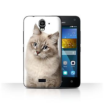 STUFF4 Case/Cover for Huawei Y3/Y360/Siberian/Cat Breeds