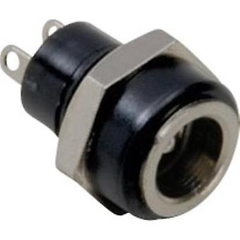 Low power connector Socket, vertical vertical 5.7 mm 2.1 mm BKL Electronic 1 pc(s)