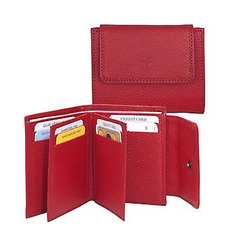 Dr Amsterdam Credit card pouch Mint Tango Red