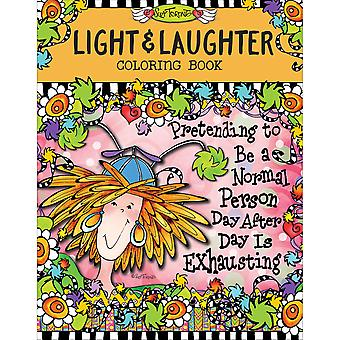 Design Originals-Light & Laughter Coloring Book DO-01569