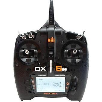 Spektrum DX6e Handheld RC 2,4 GHz No. of channels: 6 Incl. receiver