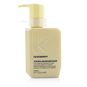 Kevin Murphy Young.Again.Masque (Immortelle and Baobab Infused Restorative Softening Masque - To Dry Damaged or Brittle Hair) 200ml/6.7oz