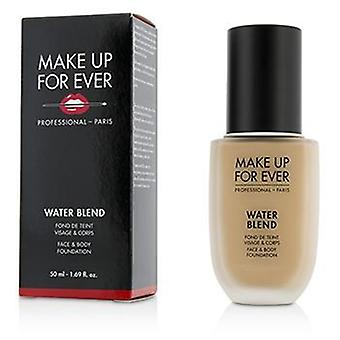 Make Up For Ever Water Blend Face & Body Foundation - # R330 (Warm Ivory) - 50ml/1.69oz