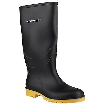 Dunlop 16258 Childrens Unisex Dulls Welly Boots Self Lined PVC Pull On Footwear
