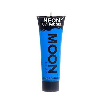 Moon Glow - 20ml Neon UV Hair Gel - Temporary Wash-out Hair Colour - Blue