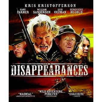 Disappearances [Blu-ray] USA import