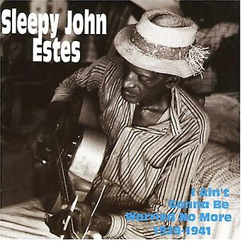 Sleepy John Estes - I Ain't Gonna Be Worried No Mo [CD] USA import