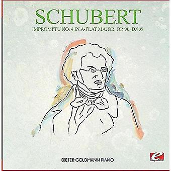 Schubert - improvisert nr 4 Op. 90 D.899 [DVD] USA importere