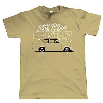 Nach wie vor spielt mit Autos, Mens lustig Anglia 105e-T-Shirt