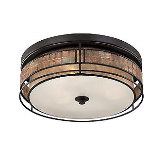 Quoizel Laguna 3lt Large Flush Mount