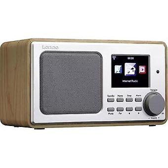 Internet Table top radio Lenco DIR-102 Internet radio, USB, AUX Wood