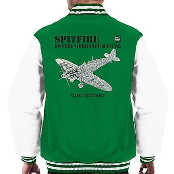 Haynes ejere Workshop Manual Spitfire mænds Varsity jakke