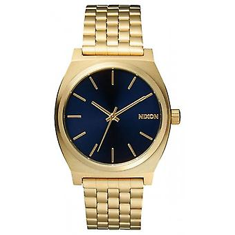 Nixon The Time Teller Watch - All Light Gold/Cobalt