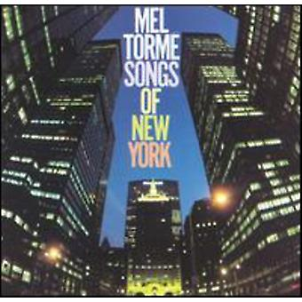 Mel Torme - Songs of New York [CD] USA import