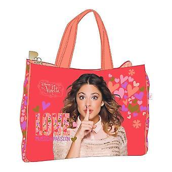 Amor de música Disney Violetta sacola de compras