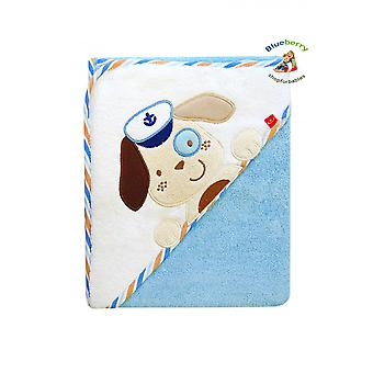 BlueberryShop Embroidered COTTON HOODED Bath Pool Beach TOWEL Baby Kid Todler Gift (31.5